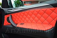 BMW X5 полная перетяжка салона