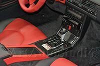 Mercedes 129 полная перетяжка салона