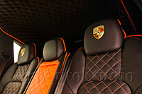 Porsche Cayenne полная перетяжка салона