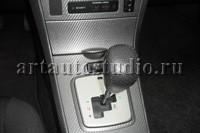Toyota Corolla перетяжка ручки АКПП перфорированной кожей