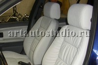 BMW 3 перетяжка сидений