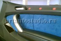 BMW 5 перетяжка дверей и сидений