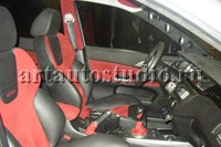 Mitsubishi Lancer полная перетяжка салона