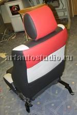 Toyota Camry перетяжка сидений