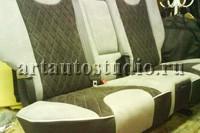 Toyota Land Cruiser перетяжка салона и сидений