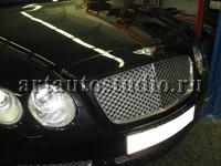 Bentley полная перетяжка салона